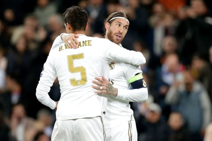 Raphael Varane, Sergio Ramos