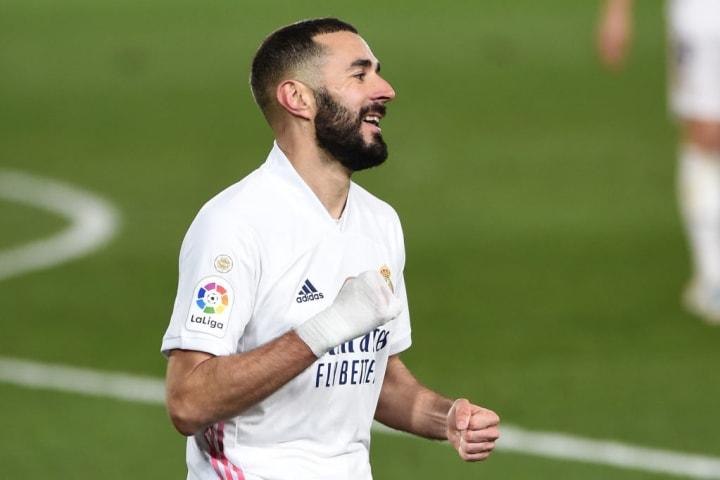 Karim Benzema Real Madrid Granada Título La Liga