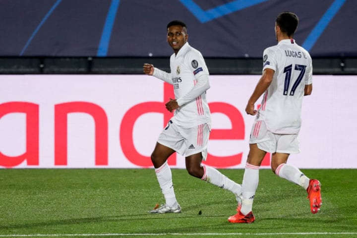 Rodrygo was the hero for Real Madrid
