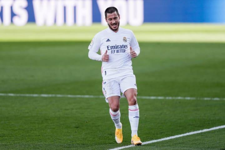 Eden Hazard termasuk dalam bintang Real Madrid yang belum dapat memberi kontribusi yang diharapkan.
