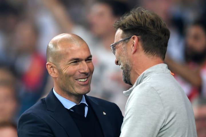 Zinedine Zidane, Jurgen Klopp