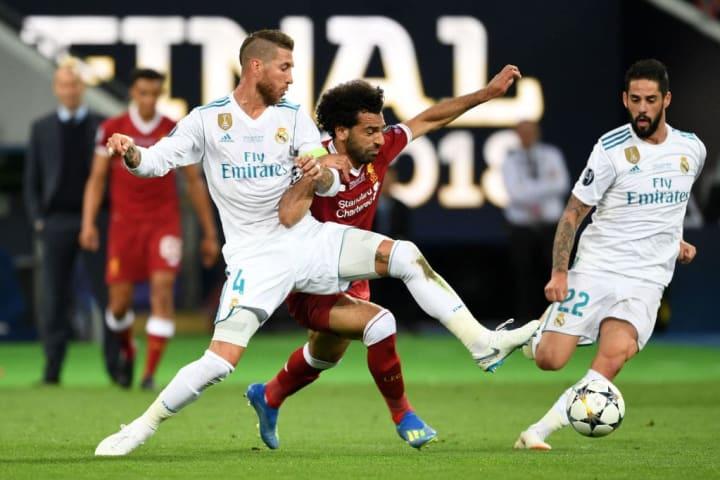 Mohamed Salah, Sergio Ramos