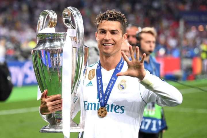 Ronaldo is one of the Champions League's greatest ever players