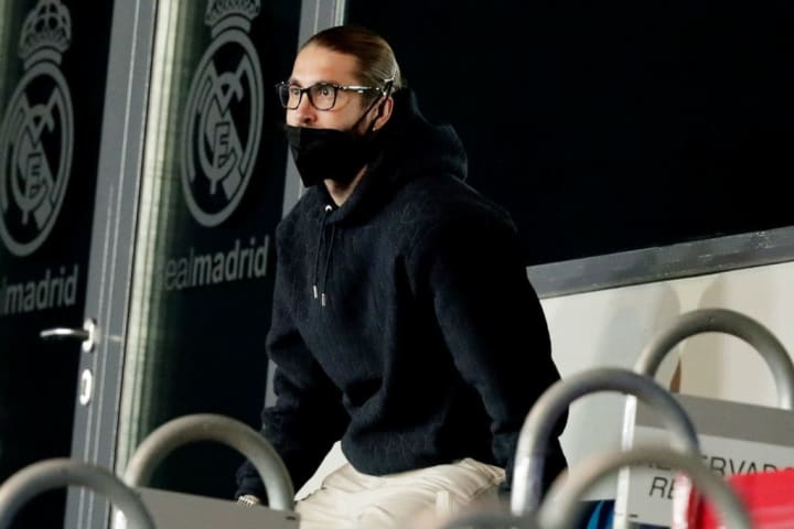 Sergio Ramos looks to be heading out of Real
