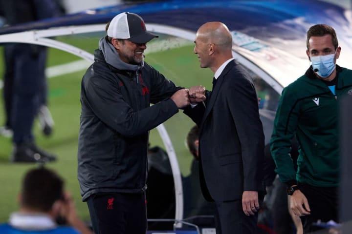 Jurgen Klopp, Zinedine Zidane