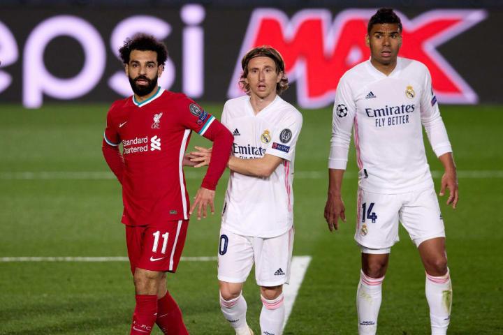 Mohamed Salah, Luka Modric, Casemiro
