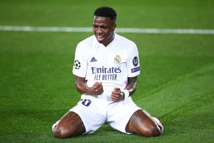 A brace from Vinicius Junior did the damage against Liverpool