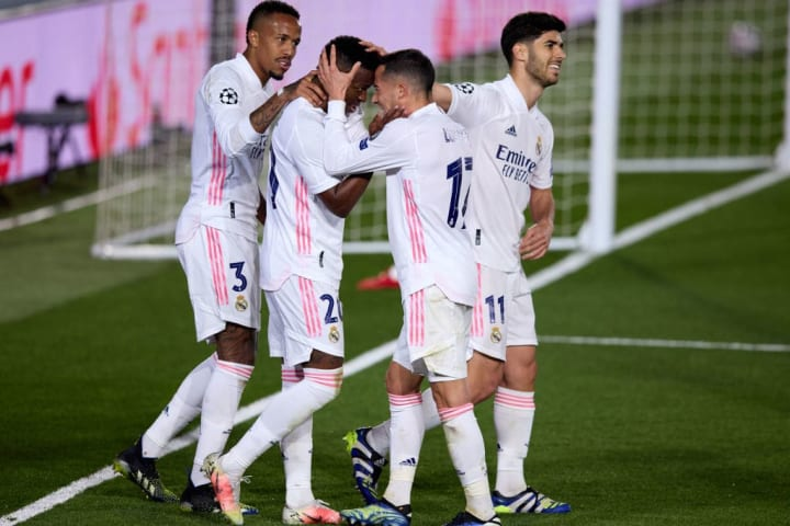Vinicius Junior & Marco Asensio scored the Real goals