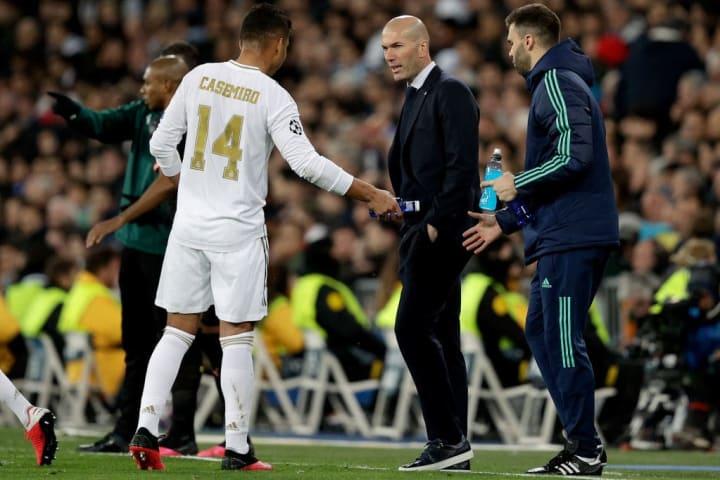 Casemiro, Zinedine Zidane