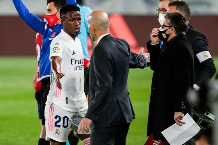 Vinicius Junior, Zinedine Zidane