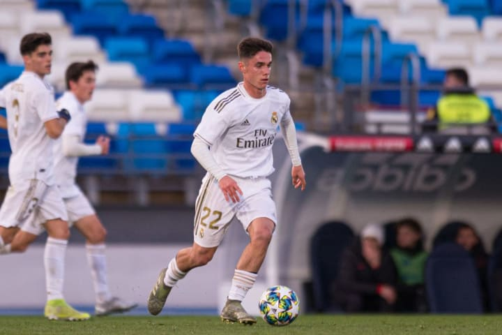 Arribas has starred for Real's Juvenil A side this season