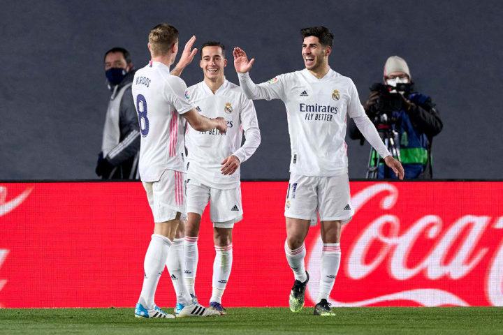 El Madrid no sufrió ante el Celta