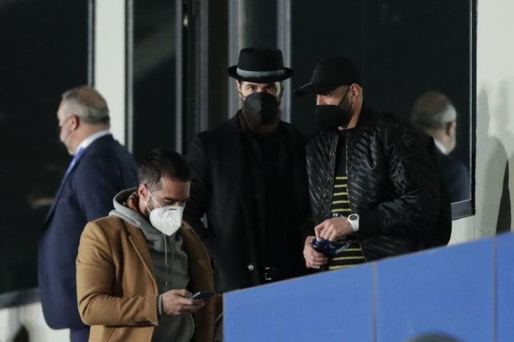 Sergio Ramos, Daniel Carvajal, Karim Benzema