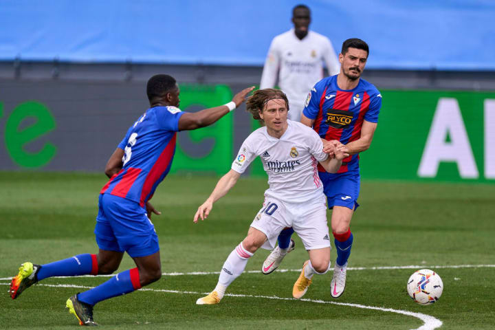 Luka Modric, Sergio Alvarez