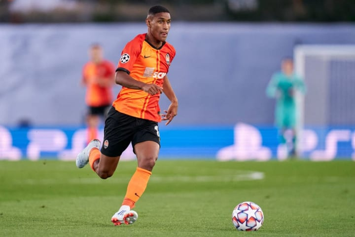 20-year-old Tete was one of many shining lights in the Shakhtar side that stunned Real Madrid