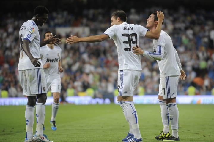Remember Adebayor at Real Madrid? No?