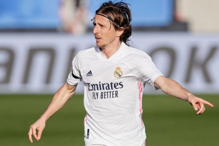 Luka Modric is aiming for a fifth Champions League crown