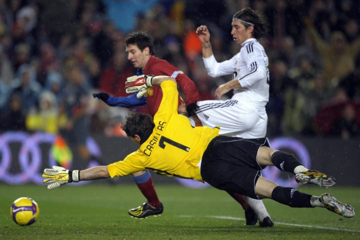 Real Madrid's goalkeeper Iker Casillas j