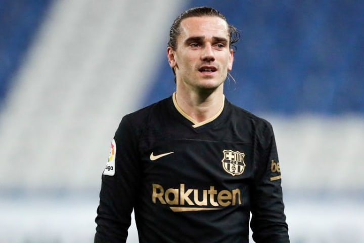 Barcelona's Antoine Griezmann has been listed as someone who Juve could be willing to swap for Dybala