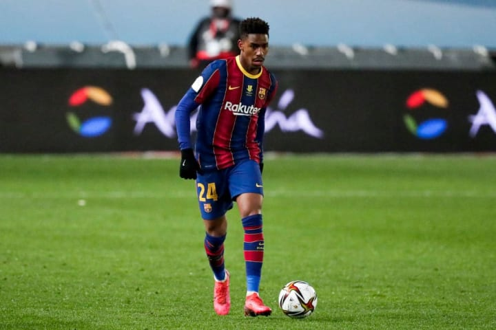 Firpo has struggled to make an impact at Barcelona
