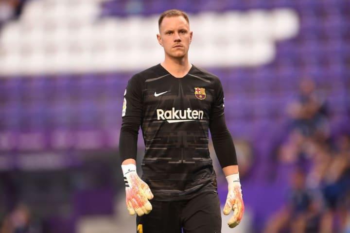 FC Barcelona's Marc-André ter Stegen.