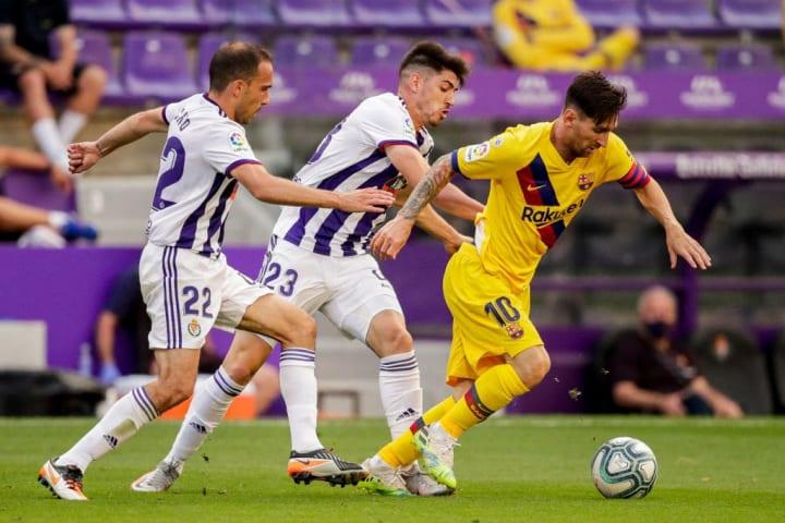 Kike, Lionel Messi, Nacho