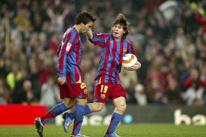 Leo Messi Deco Parceiro Barcelona Carreira