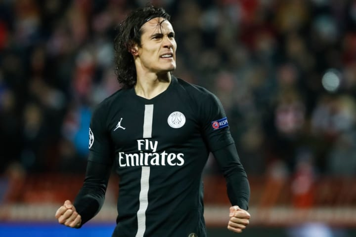 Cavani played a part in PSG reaching the 2019/20 final