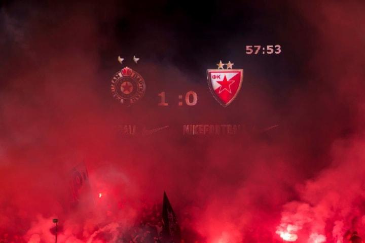 Red Star Belgrade vs Partizan Belgrade - Serbian Cup