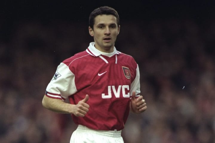 Remi Garde was a veteran back-up for Arsenal