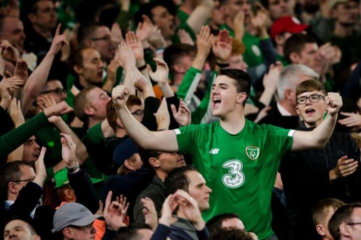 Republic of Ireland  v Switzerland  -EURO Qualifier
