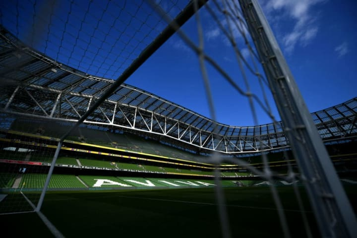 The Aviva Stadium may not be hosting part of Euro 2020 anymore