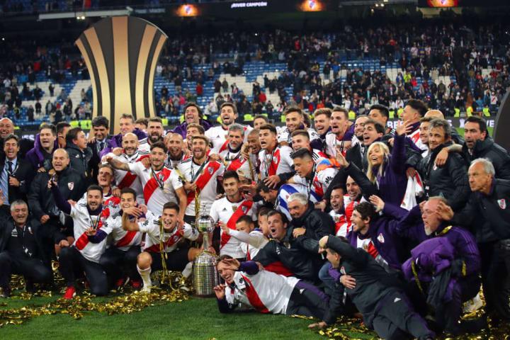River Plate Libertadores Finais História 2018 Campeão
