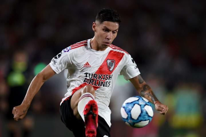Montiel was key in River's run to the Copa Libertadores final last season