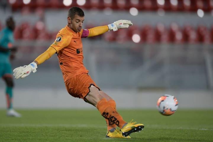 Adrian Gabbarini LDU Grêmio Oitavas Sul-Americana
