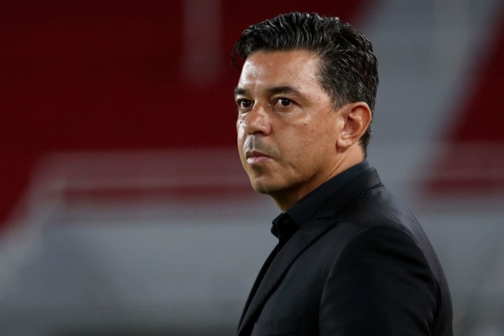 Marcelo Gallardo took over at River Plate in 2014, having previously managed Club Nacional in Uruguay