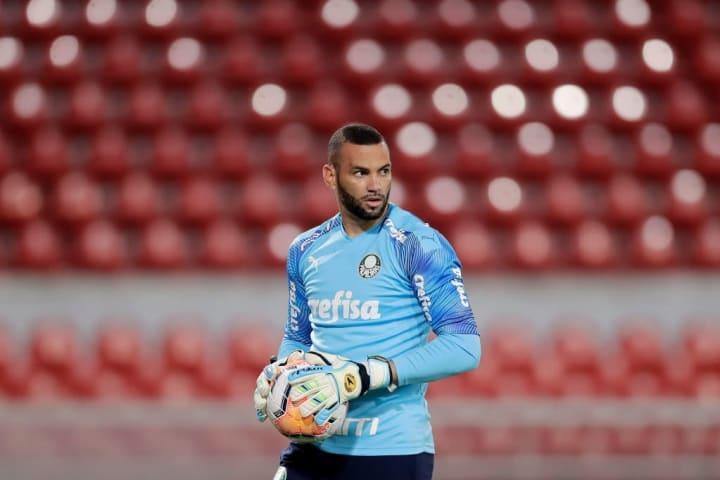 Weverton Palmeiras Defensa y Justicia REcopa Destaque