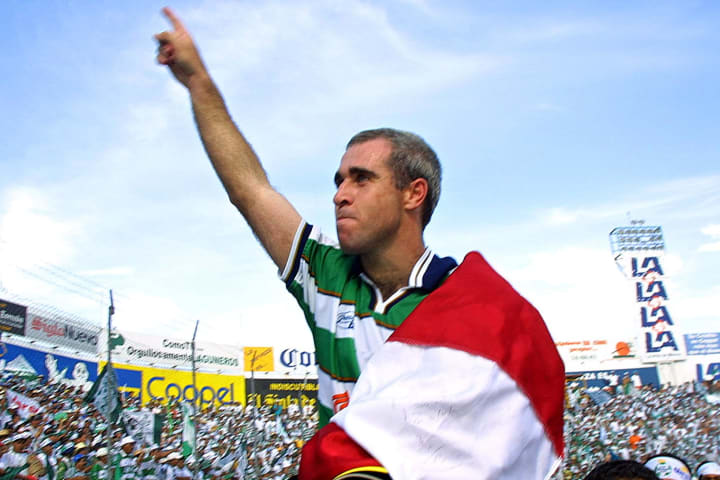 Rodrigo 'Pony' Ruiz, campeón con Santos LAguna