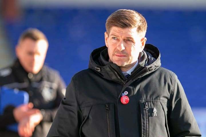 Steven Gerrard's actually quite a good manager