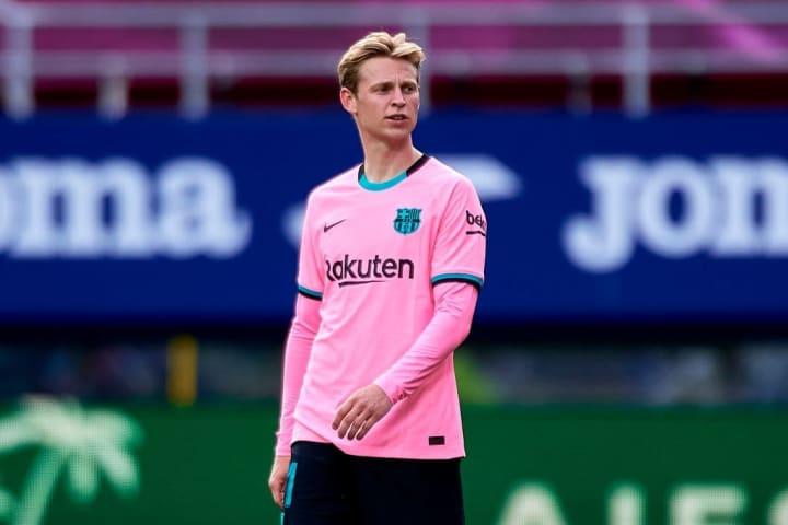 Frenkie de Jong Valor Mercado Barcelona La Liga