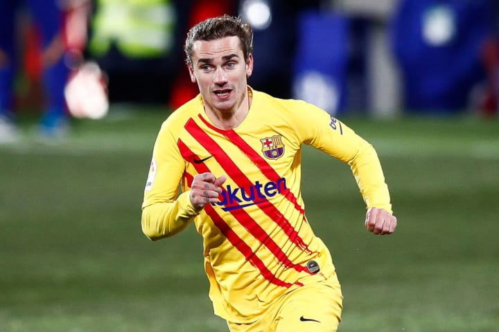 Antoine Griezmann is struggling for form