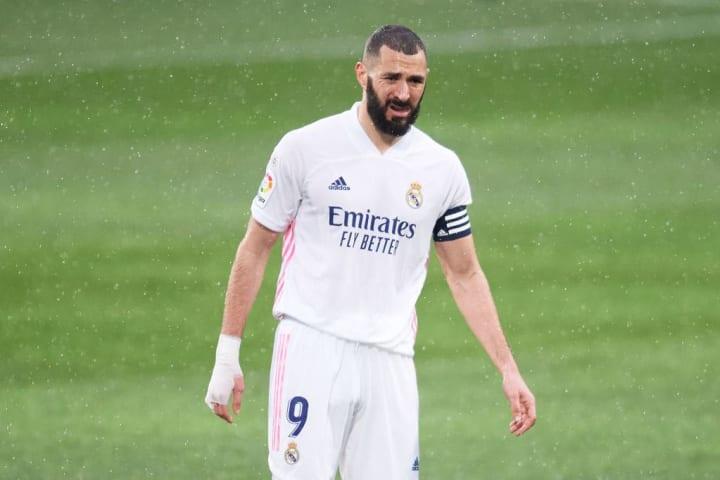 Karim Benzema n'a pas réussi à trouver la solution face au gardien.