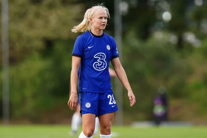 The arrival of Pernille Harder was one of a number of blockbuster WSL transfers in the summer