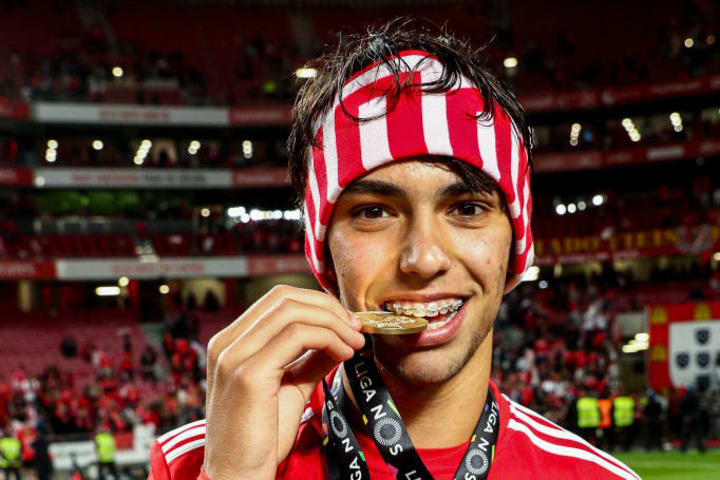 Joao Felix signed off from Benfica with silverware