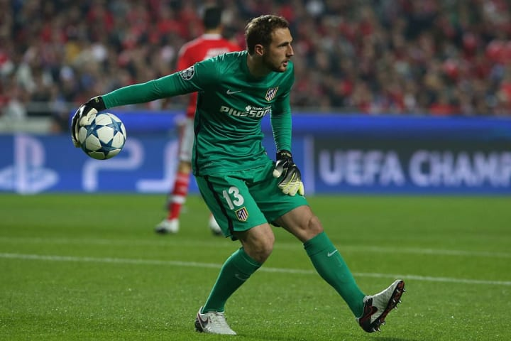 Oblak took a while to break into the first team