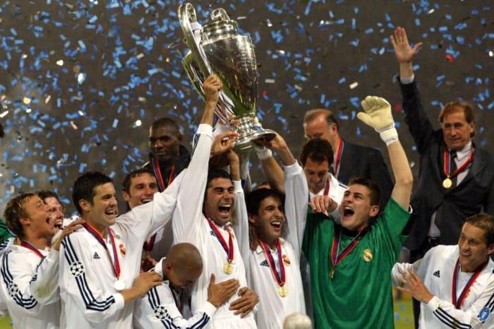 SOCCER-CHAMPIONS-BAYER LEVERKUSEN REAL MADRID