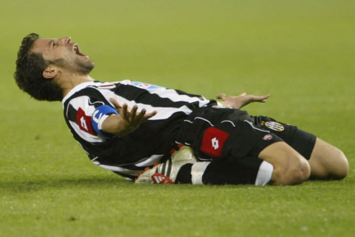 Del Piero helped fire Juventus into the 2003 final