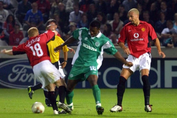 Maccabi Haifa beat United 3-0 back in 2002