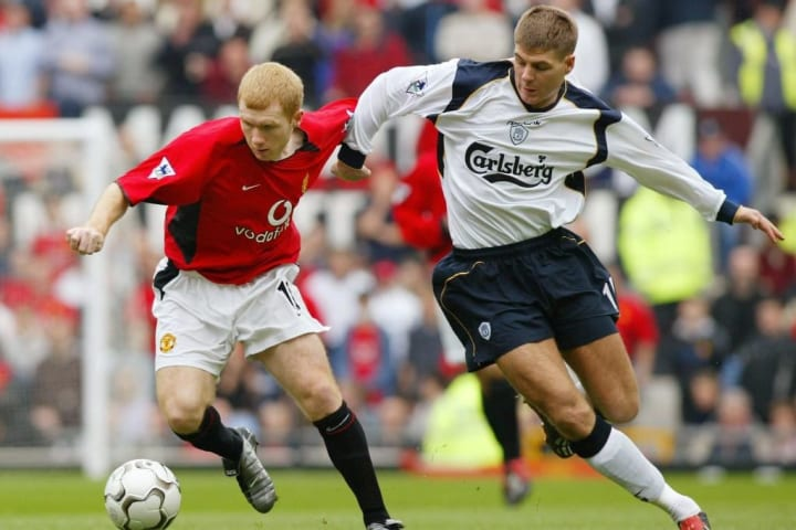 Paul Scholes & Steven Gerrard
