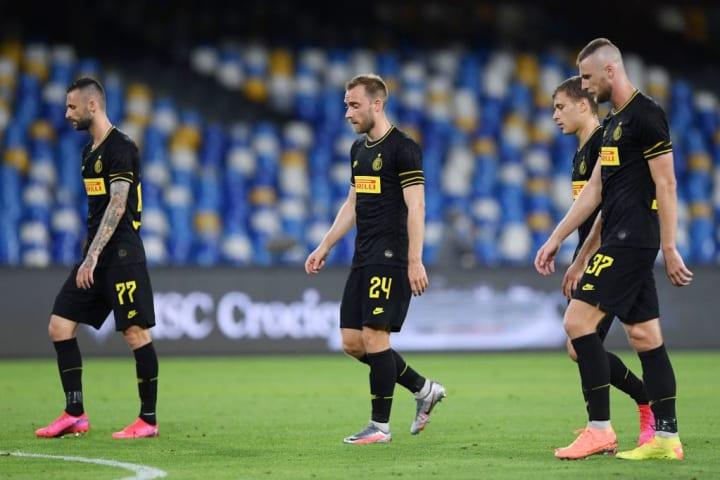 Marcelo Brozovic, Christian Eriksen, Nicolò Barella, Milan Skriniar